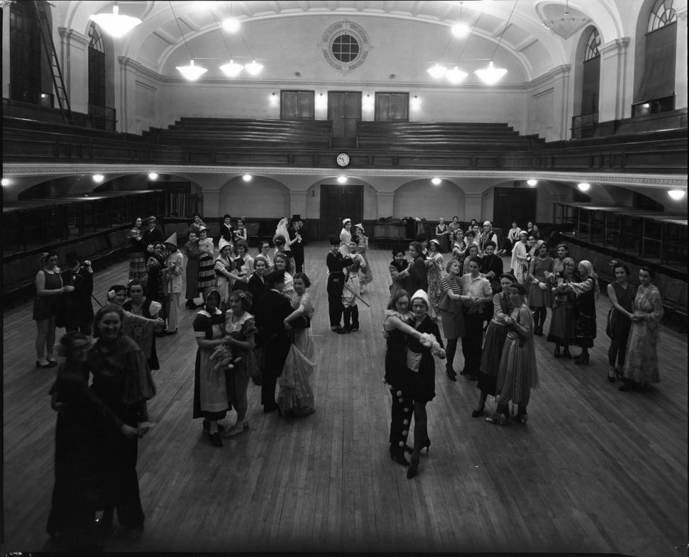 Wauneita Society Masqueradel, circa 1924. Image courtesy of the University of Alberta Archives, 69-95-29.