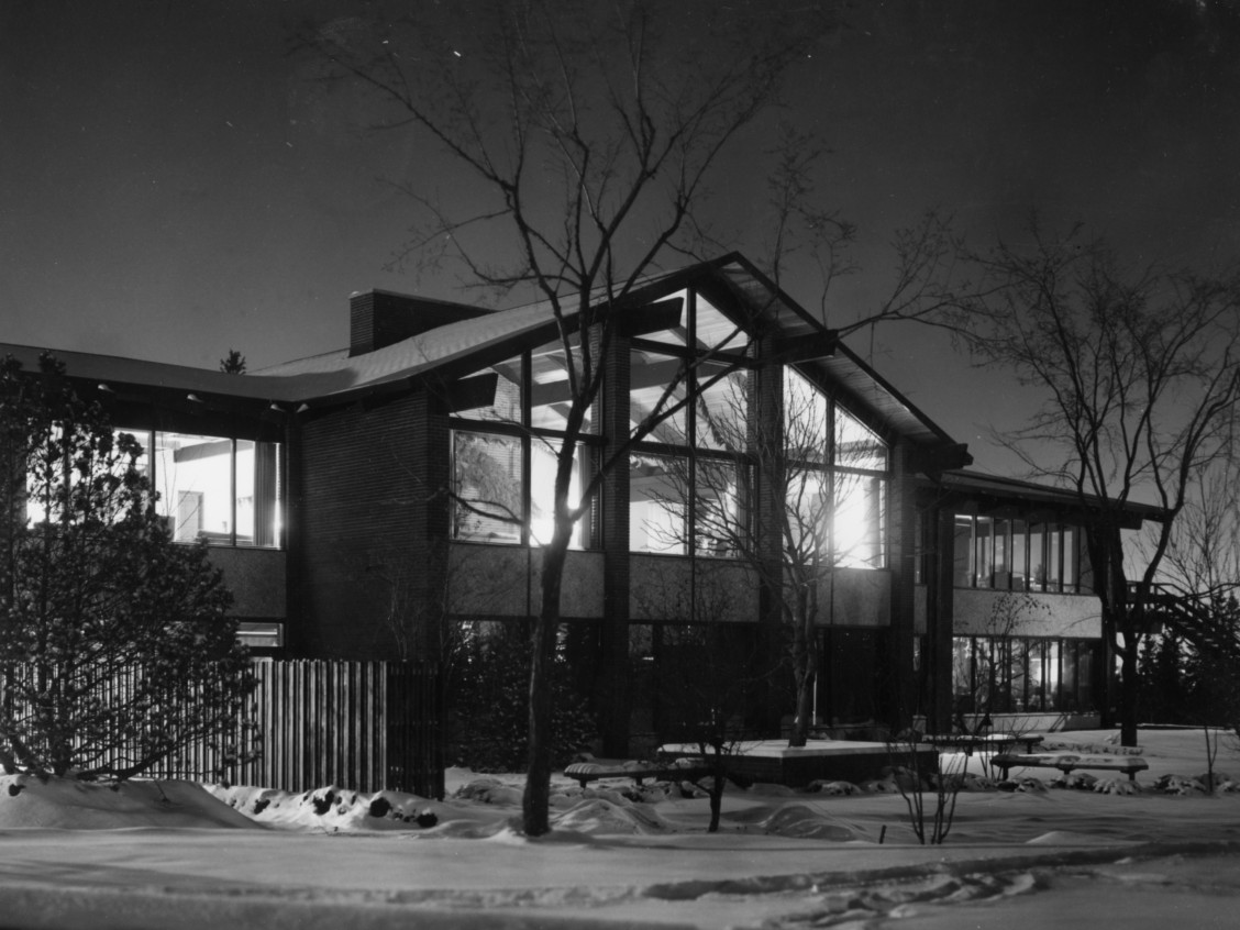 University of Alberta Faculty Club. Photo Courtesy of the University of Alberta Archives Accession #71-39-2