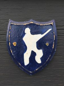 Cricket symbol at Victoria Park. Photo by Umar Akbar.