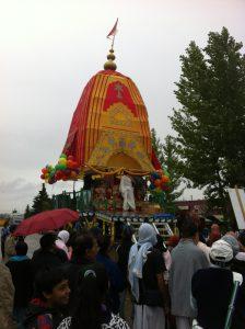 Sri Radha Govindaji Temple. Photo by Umar Akbar.