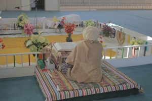 Interior, Nanaksar Gurdwara, Sikh Temple on Manning Drive Edmonton, AB. Photo by Umar Akbar.