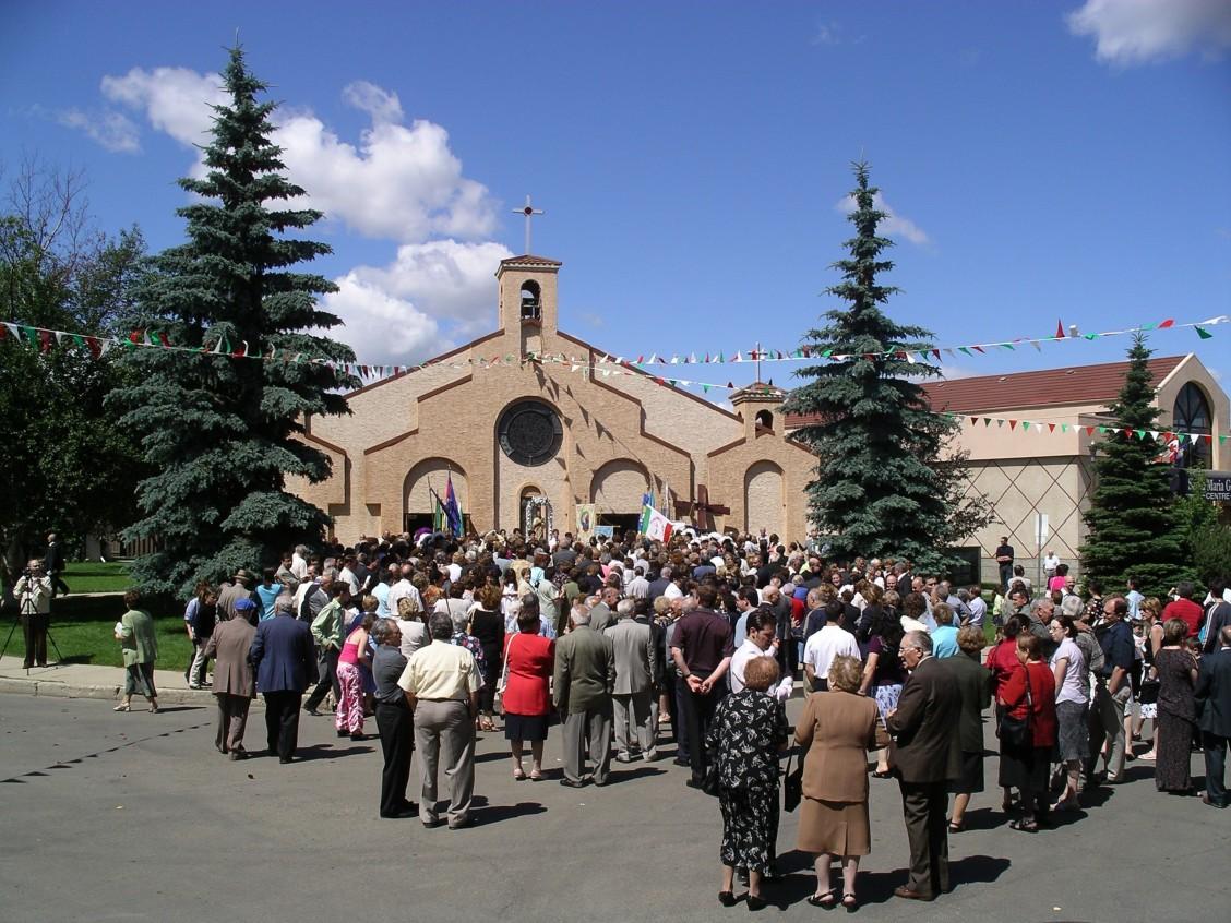 Santa Maria Coretti Parish. Image courtesy of E. R. Cavaliere and supplied by Adriana A. Davies.