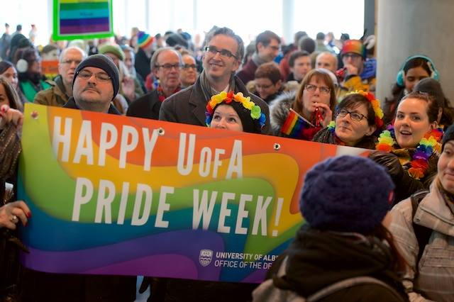 Photos provided by UofA Pride Week