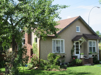 Coates Residence, 2015. Photo courtesy of Edmonton Planning and Development.