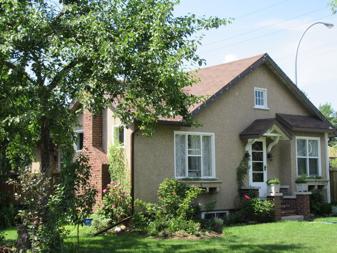 Coates Residence, 2015. Photo courtesy of Edmonton Planning and Development.