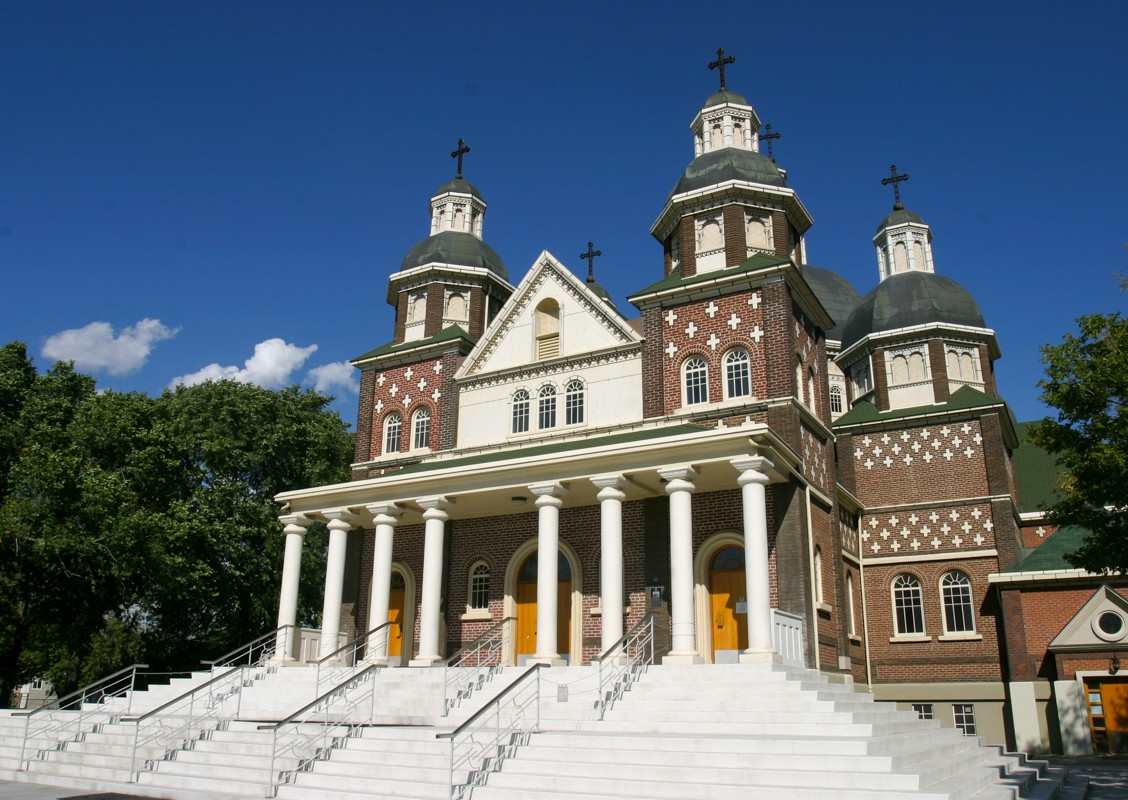 St. Josaphat's Cathedral. Image © 2006 Lawrence Herzog