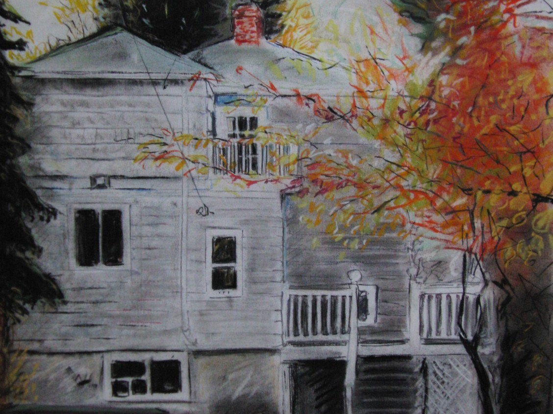 A drawing of a home in Garneau